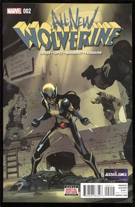 Picture of ALL NEW WOLVERINE #2 9.4 NM