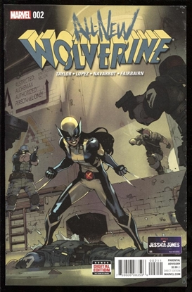 Picture of ALL NEW WOLVERINE #2 9.0 9.0 VF/NM