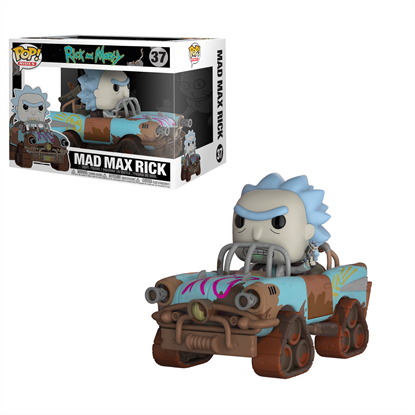 Picture of FUNKO POP RIDES RICK AND MORTY MAD MAX RICK #37 NEW VINYL FIGURE