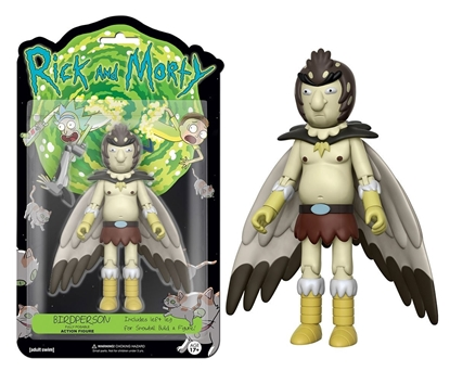 "Picture of FUNKO 5"" ARTICULATED RICK AND MORTY ACTION FIGURE- BIRDPERSON"