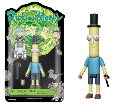 "Picture of FUNKO 5"" ARTICULATED RICK AND MORTY ACTION FIGURE- MR. POOPYBUTTHOLE"