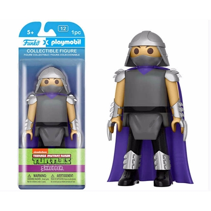 Picture of FUNKO X PLAYMOBILE COLLECTIBLE FIGURE TMNT SHREDDER NEW IN BOX