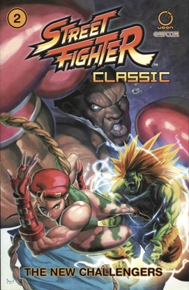 Picture of STREET FIGHTER CLASSIC TP VOL 02 NEW CHALLENGERS