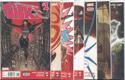 Picture of SILK #1-7 1ST PRINT SET