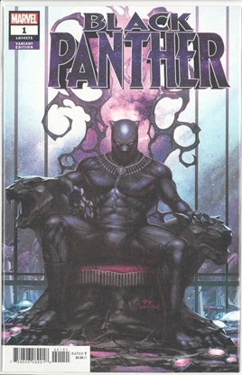 Picture of BLACK PANTHER #1 IN-HYUK LEE VAR
