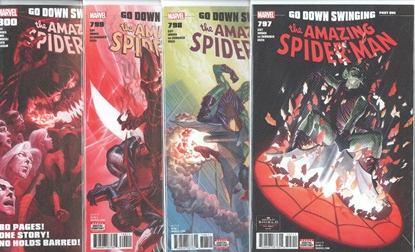 Picture of AMAZING SPIDER-MAN #797 798 799 800 1ST PRINT SET