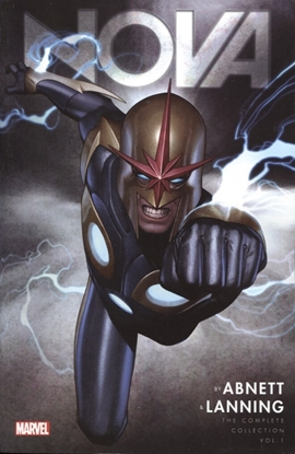 Picture of NOVA BY ABNETT & LANNING COMPLETE COLLECTION TP VOL 1