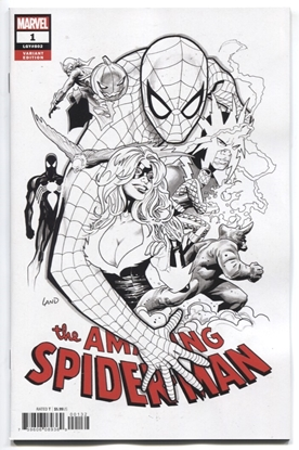 Picture of AMAZING SPIDER-MAN #1 LAND VAR