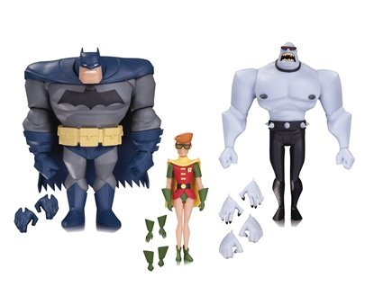 Picture of BATMAN ANIMATED BATMAN ROBIN MUTANT AF 3 PACK (RES)