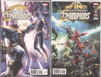 Picture of INFINITY COUNTDOWN CHAMPIONS #1 & 2 SET NM