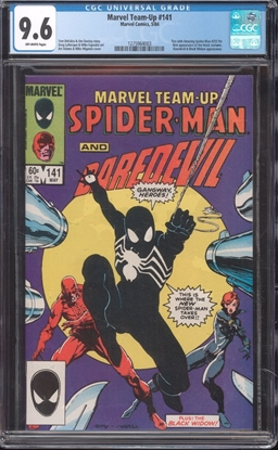 Picture of MARVEL TEAM-UP #141 CGC 9.6 NM+ OW
