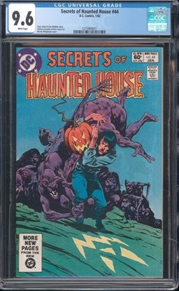 Picture of SECRETS OF HAUNTED HOUSE #44 CGC 9.6 NM+ WP