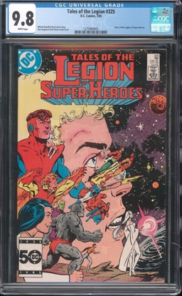 Picture of TALES OF THE LEGION (1984) #325 CGC 9.8 NM/MT WP