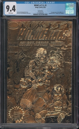 Picture of WILDCATS  #1 CGC 9.4 NM GOLD EDITION WP