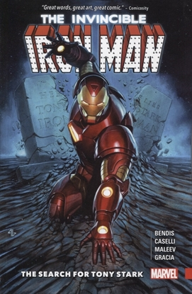 Picture of INVINCIBLE IRON MAN TP SEARCH FOR TONY STARK