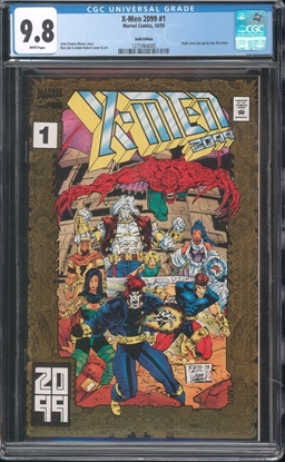 Picture of X-MEN 2099 (1993) #1 CGC 9.8 NM/MT GOLD EDITION WP