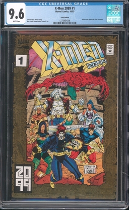 Picture of X-MEN 2099 (1993) #1 CGC 9.6 NM+ GOLD EDITION WP