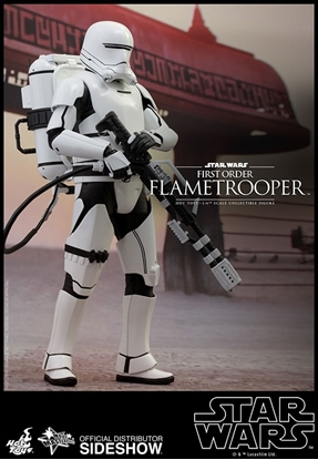 Picture of First Order Flametrooper Sixth Scale Figure by Hot Toys