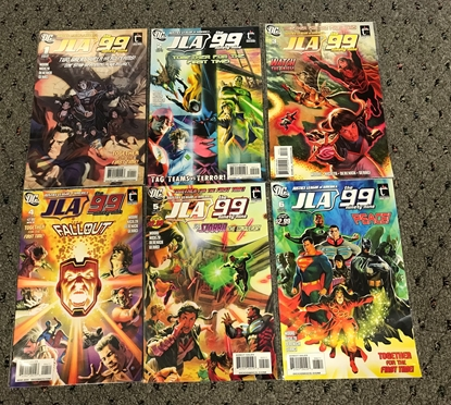 Picture of JLA THE 99 (2010) #1-6 ST PRINT SET NM-