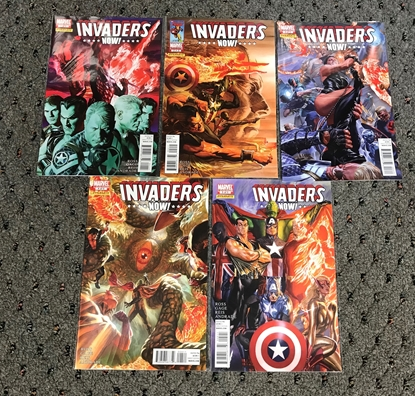 Picture of INVADERS NOW #1-5 1ST PRINT SET NM-