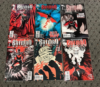 Picture of BATMAN BEYOND (2010) #1-6 SET NM