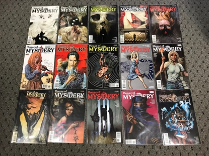 Picture of HOUSE OF MYSTERY (2008) #1-42 1ST PRINT SET NM-