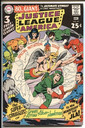 Picture of JUSTICE LEAGUE OF AMERICA (1960) #67 8.0 VF