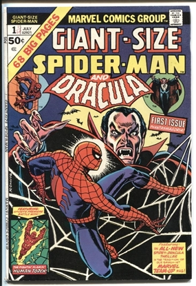 Picture of GIANT-SIZE SPIDER-MAN (1974) #1 9.0 VF/NM