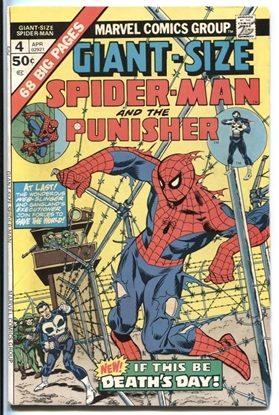 Picture of GIANT-SIZE SPIDER-MAN (1974) #4 8.0 VF