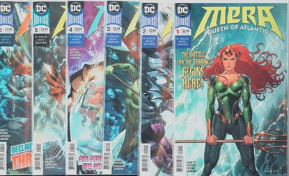 Picture of MERA QUEEN OF ATLANTIS #1-6 1ST PRINT SET NM