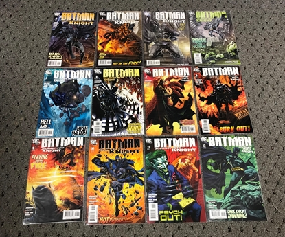 Picture of BATMAN JOURNEY INTO KNIGHT (2005) #1-12 NM-