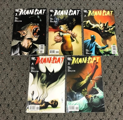 Picture of MAN-BAT (2006) #1-5 NM-