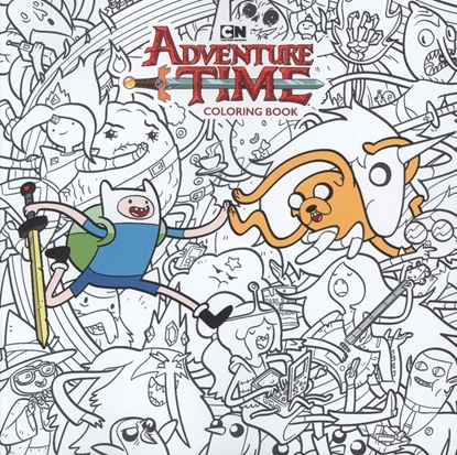 Picture of ADVENTURE TIME ADULT COLORING BOOK TP (C: 1-1-2)