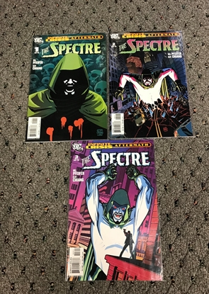 Picture of INFINITE CRISIS AFTERMATH SPECTRE #1-3 1ST PRINT SET NM-