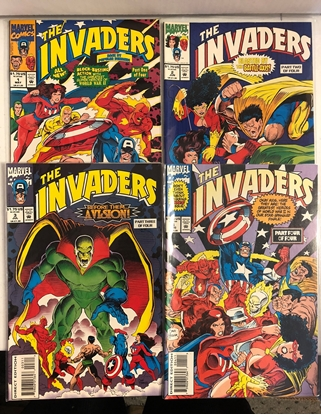 Picture of INVADERS (1993) #1-4 SET VF/NM