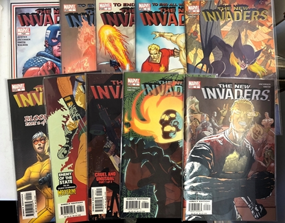 Picture of NEW INVADERS (2004) #0 #1-9 SET VF/NM
