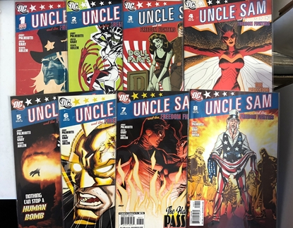 Picture of UNCLE SAM AND THE FREEDOM FIGHTERS (2007) #1-8