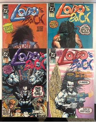 Picture of LOBO'S BACK (1992) #1-4 1ST PRINT SET VF/NM