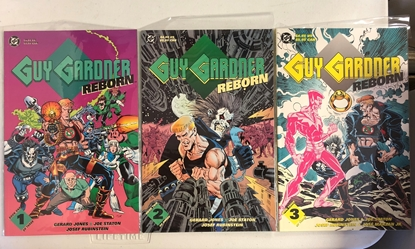 Picture of GUY GARDNER: REBORN BOOK 1 2 3 SET PRESTIGE FORMAT 1ST PRINT JONES/STATON (C1)