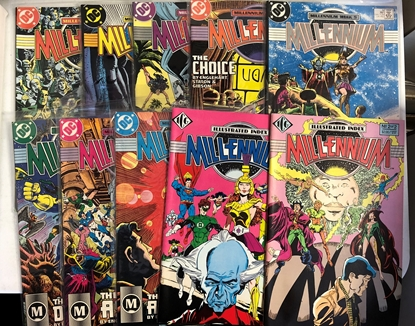 Picture of MILLENNIUM #1-8 & INDEX #1-2 SET AVG NM-