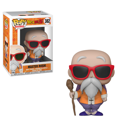 Picture of FUNKO POP ANIMATION DRAGON BALL MASTER ROSHI W/ CANE #382 NEW VINYL FIGURE