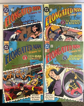 Picture of ELONGATED MAN: EUROPE '92 #1 2 3 4 COMPLETE FULL SET HIGH GRADE
