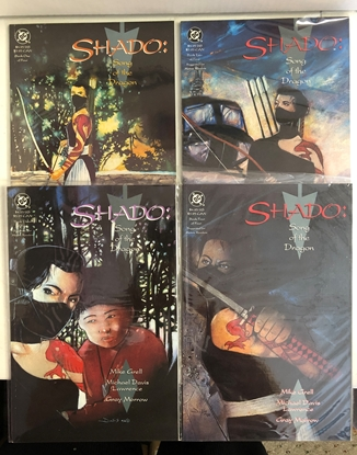 Picture of SHADO SONG OF THE DRAGON  (1992) #1-4 1ST PRINT SET VF/NM