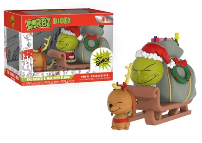 Picture of FUNKO DORBZ RIDES DR. SEUSS THE GRINCH & MAX W/ SLEIGH #41 NEW VINYL FIGURE