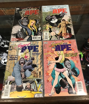 Picture of ANGEL AND THE APE (1991) #1-4 SET