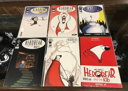 Picture of HEROBEAR AND THE KID #1-5 & SPECIAL SET VF/NM