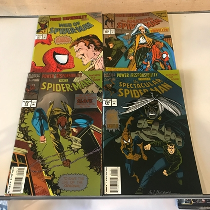 Picture of SPIDER-MAN POWER AND RESPONSIBILITY 4-ISSUE SET VF