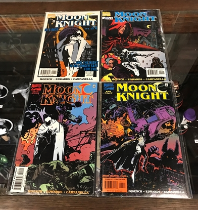 Picture of MOON KNIGHT (1998) #1-4 1ST PRINT SET VF/NM