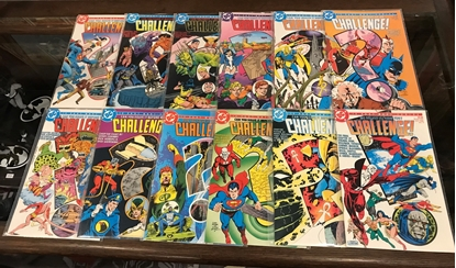 Picture of CHALLENGE (1985) #1-12 COMPLETE SET VF/NM