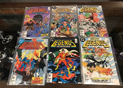 Picture of LEGENDS (1986) #1-6  SET VF/NM